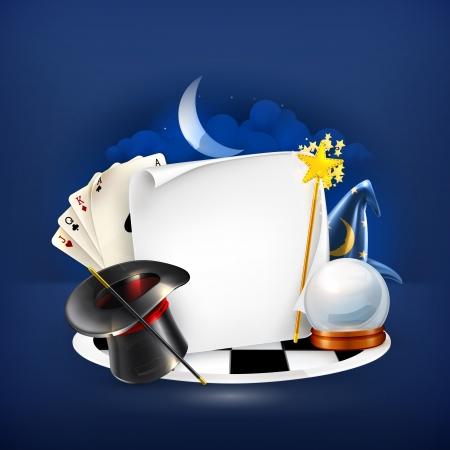 fortune teller: Magic frame