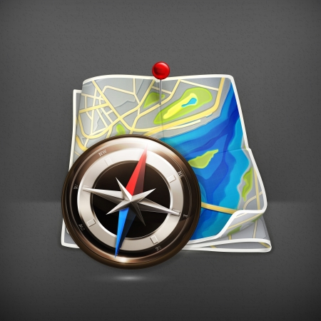 pin icon: Navigation map