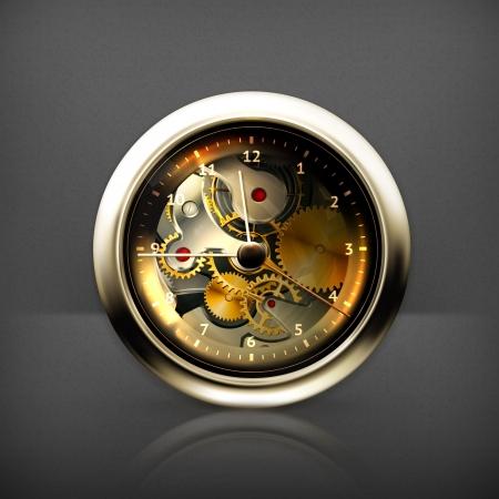 gear wheel: Clock