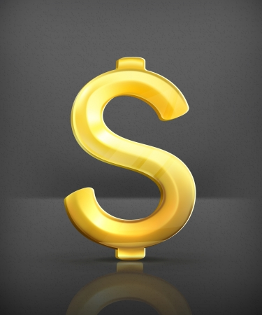 commercial sign: Dollar sign