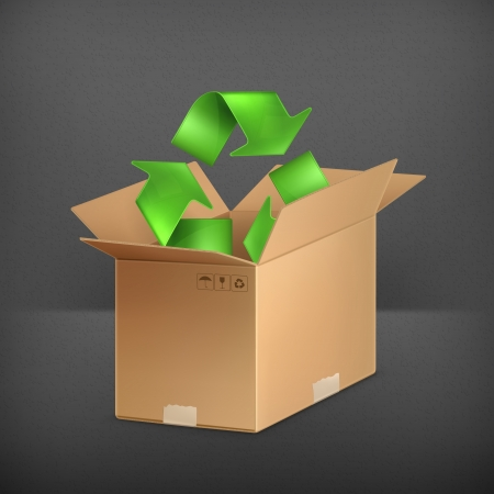 packaging industry: Recycle icon