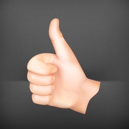 thumbs up icon: Thumb up