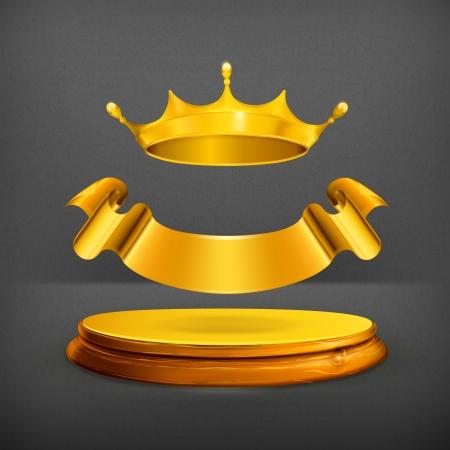 király: Arany korona