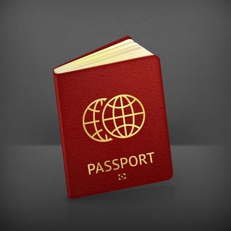 Passport Stock Vector - 19621856