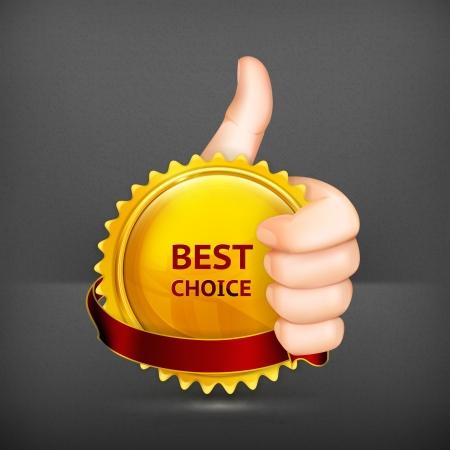 Best choice Stock Vector - 19713387