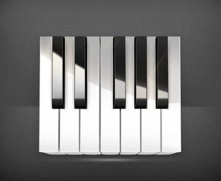 octave: Octave, piano keys