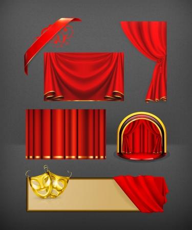 showcase interior: Set Theater