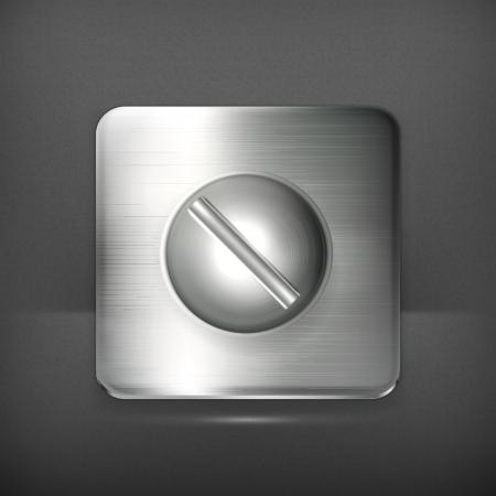 Screw, icon Stock Vector - 19713208