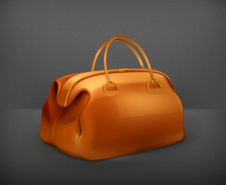 luggage bag: Vintage bag