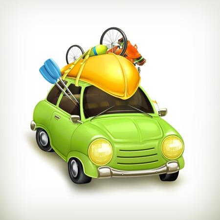 Car travel, icon