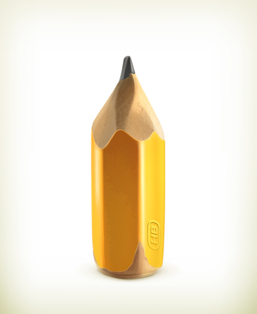 graphite: HB graphite pencil icon