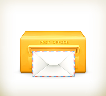 Post office icon Stock Vector - 22197536