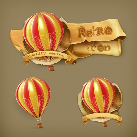 leather coat: Air balloon