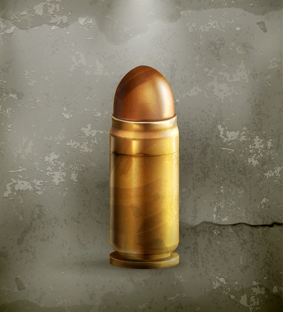 Bullet, old style Stock Vector - 22207144