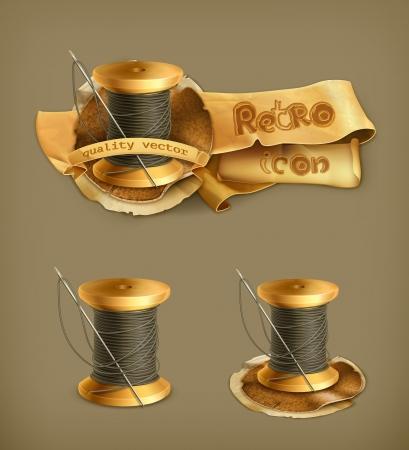 Spool of thread icon
