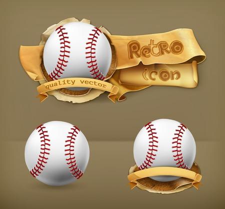Baseball, vector icon Vector