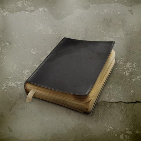 old notebook: Book old style vector Illustration