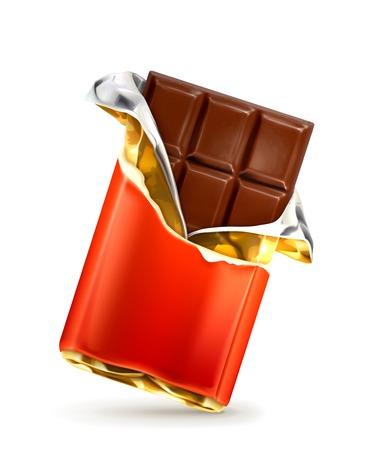 チョコレートのベクトル