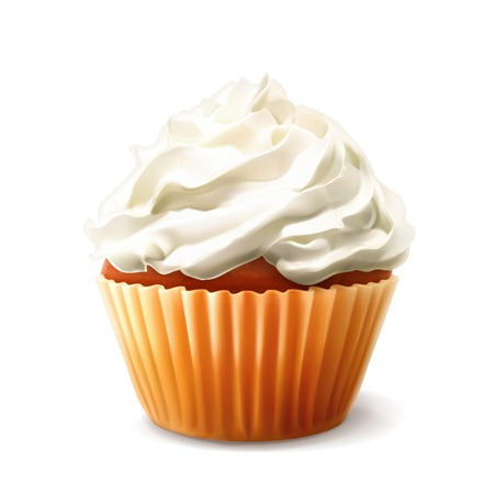 컵 케이크 벡터