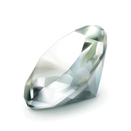 adamant: Diamond, vector object Illustration
