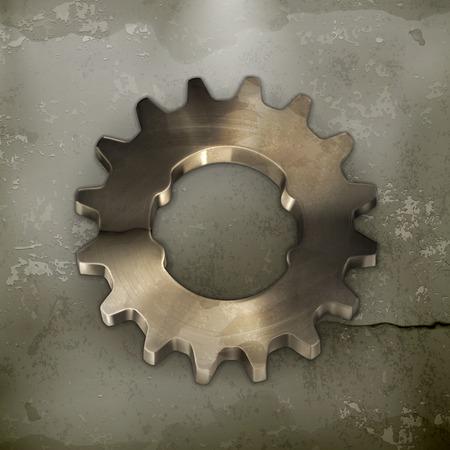 metal parts: Metal gear, old style