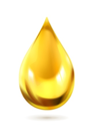 natural food: Oil drop, icon