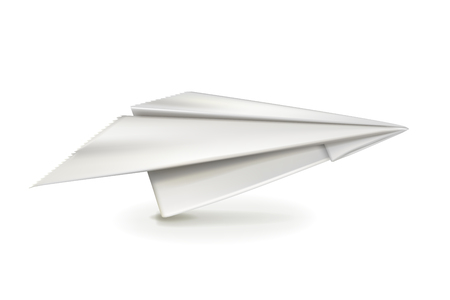 plane vector: Paper plane, vector