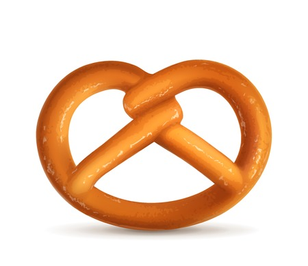 pretzel: Pretzel, vector illustration