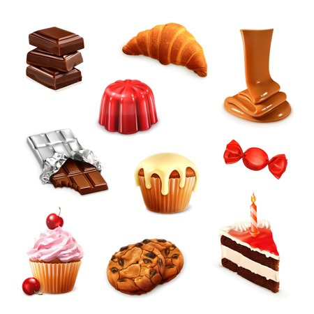 confection: Confectionery Illustration