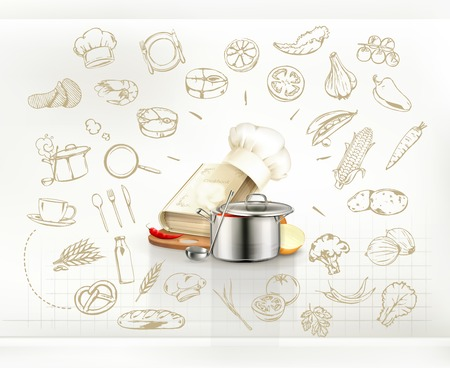 recipe book: Cooking infographics