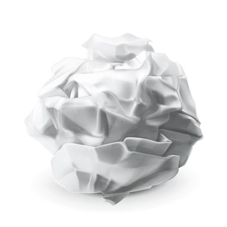 crinkle: Crumpled paper