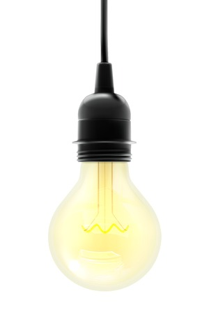 electric light: Electric light bulb