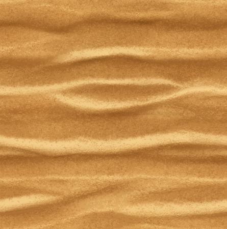 Sand, seamless vector background  イラスト・ベクター素材