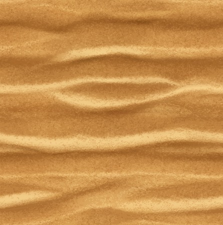 Sand, seamless vector background Illustration