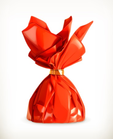 wrapper: Candy, vector illustration Illustration