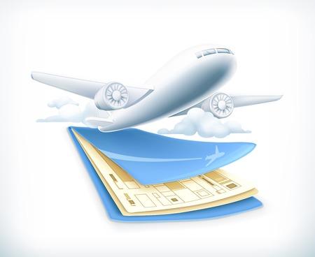 goodbye: Flights illustration