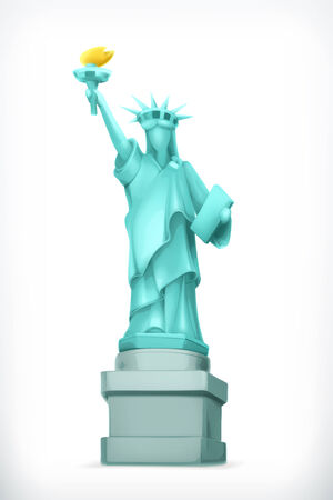 statue of liberty: Statue of Liberty illustration Illustration
