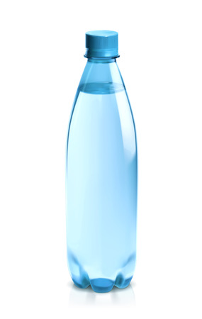 mineral: Water bottle, vector icon