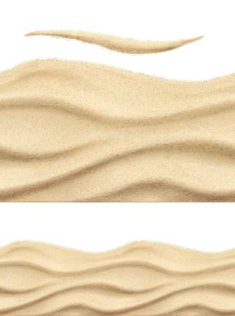 Piasek morski, bez szwu wektor wzór