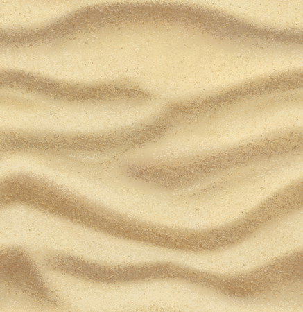 Sand, summer, beach, vector seamless background Illustration