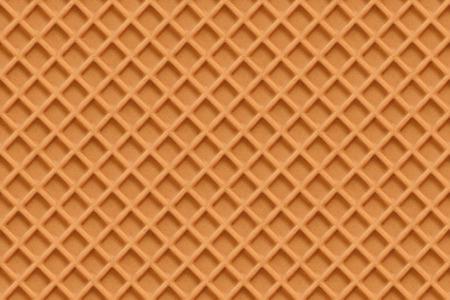 Waffles, seamless texture vector Illustration