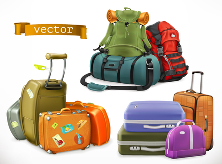 Travel. Bag, backpack, suitcase