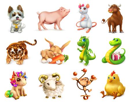 12 zodiac animal
