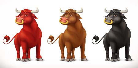Bull. Ox animal in the Chinese zodiac