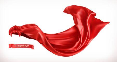 Red Cloak on white 일러스트