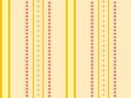 orange and yellow stripes - seamless background