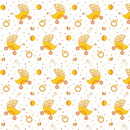 Childrens pattern yellow