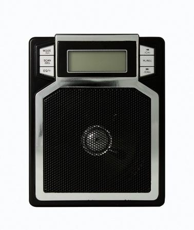 fm: FM Radio isolate on a white background