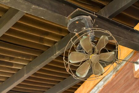 An Old Ceiling Fan Stock Photo - 22926465