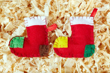 christmas stockings: Handmade Christmas stockings